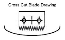 Cross Cut Blade