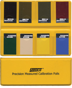 Calibration Foils