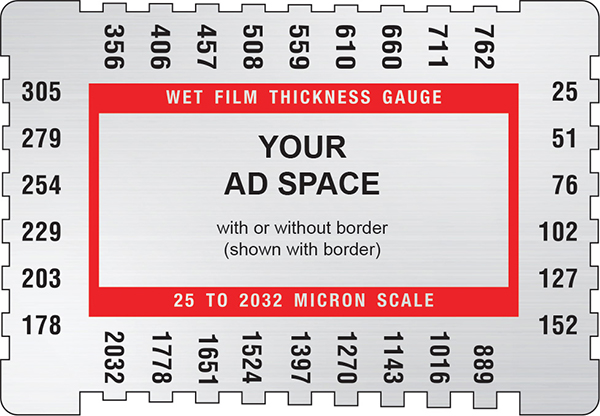 wet film thickness gauge instructions