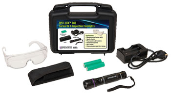 OPTI-LUX 365 Series UV-A Inspection Flashlights Kit