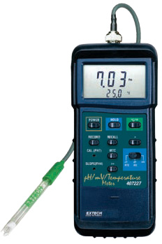 Heavy Duty pH/mV Temperature Meter